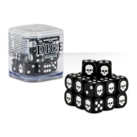 Citadel Warhammer 40000 20х12mm Dice Set Black