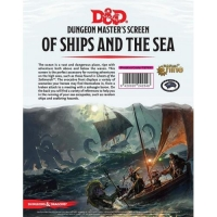 DnD Dungeon Master's Screen Of Ships And The Sea