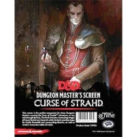 DnD Dungeon Masters Screen Curse of Strahd