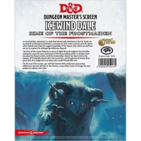 DnD Dungeon Masters Screen Icewind Dale Rime of the Frostmaiden