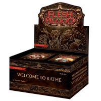 Дисплей Flesh and Blood Welcome to Rathe Unlimited на английском языке
