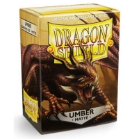 Протекторы Dragon Shield Matte Umber (100)