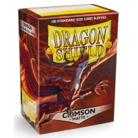 Протекторы Dragon Shield Matte Crimson (100)