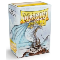 Протекторы Dragon Shield Matte Silver (100)