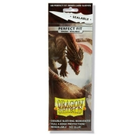 Протекторы Dragon Shield Perfect Fit Smoke (100) Sealable