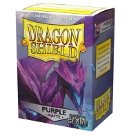 Протекторы Dragon Shield Matte Non-Glare Purple (100)