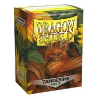 Протекторы Dragon Shield Matte Tangerine (100)