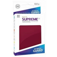 Протекторы Ultimate Guard Supreme UX Matte Burgundy (80)