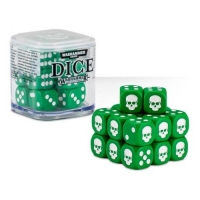 Citadel Warhammer 40000 20х12mm Dice Set Green