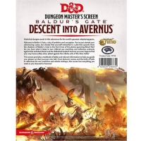 DnD Dungeon Masters Screen Descent into Avernus