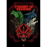 DnD Adventure Tyranny of Dragons (Alternate Cover)