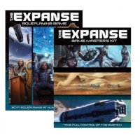 Комплект The Expanse RPG - EN + The Expanse Game Master's Kit - EN