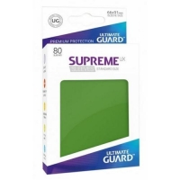 Протекторы Ultimate Guard Supreme UX Matte Green (80)