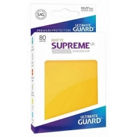 Протекторы Ultimate Guard Supreme UX Matte Yellow (80)