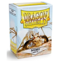 Протекторы Dragon Shield Matte Ivory (100)