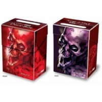 Коробочка Ultra-Pro Skull Red and Purple 80+