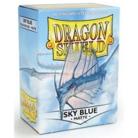 Протекторы Dragon Shield Matte Sky Blue (100)