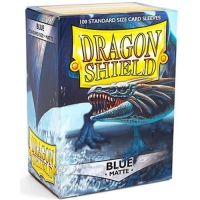 Протекторы Dragon Shield Matte Blue (100)