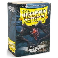 Протекторы Dragon Shield Matte Black (100)