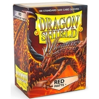 Протекторы Dragon Shield Matte Red (100)