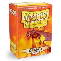 Протекторы Dragon Shield Matte Orange (100)