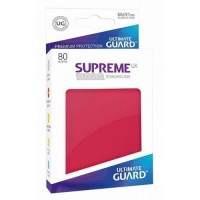 Протекторы Ultimate Guard Supreme UX Matte Red (80)