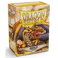 Протекторы Dragon Shield Matte Gold (100)