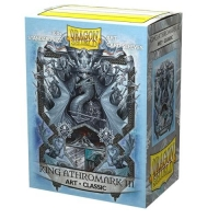 Протекторы Dragon Shield Art King Athromark III, King of Ice (100)