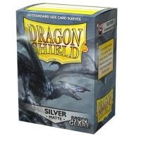 Протекторы Dragon Shield Matte Non-Glare Silver (100)