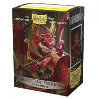 Протекторы Dragon Shield Art Valentine Dragons 2020 (100)