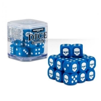 Citadel Warhammer 40000 20х12mm Dice Set Blue