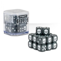 Citadel Warhammer 40000 20х12mm Dice Set Grey
