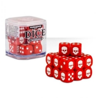 Citadel Warhammer 40000 20х12mm Dice Set Red