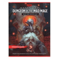 DnD Waterdeep Dungeon of the Mad Mage Maps and Miscellany