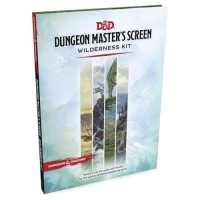 DnD Dungeon Masters Screen Wilderness Kit