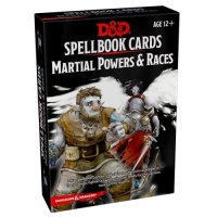 DnD Spellbook Cards Martial Powers & Races