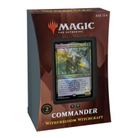 Strixhaven School of Mages Commander Witherbloom Witchcraft на английском языке