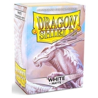 Протекторы Dragon Shield Matte White (100)