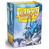 Протекторы Dragon Shield Matte Petrol (100)