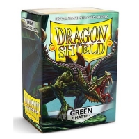 Протекторы Dragon Shield Matte Green (100)