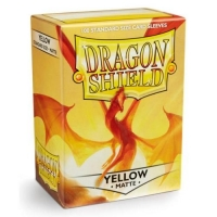 Протекторы Dragon Shield Matte Yellow (100)