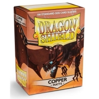 Протекторы Dragon Shield Matte Copper (100)