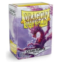 Протекторы Dragon Shield Matte Clear Purple (100)