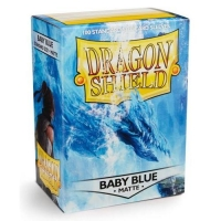 Протекторы Dragon Shield Matte Baby Blue (100)