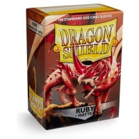 Протекторы Dragon Shield Matte Ruby (100)