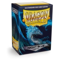 Протекторы Dragon Shield Matte Night Blue (100)