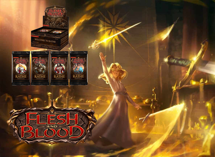 Flesh and Blood Welcome to Rathe Unlimited