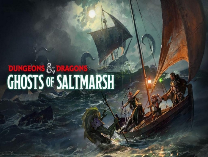 DnD Adventure Ghosts of Saltmarsh (Limited Edition)